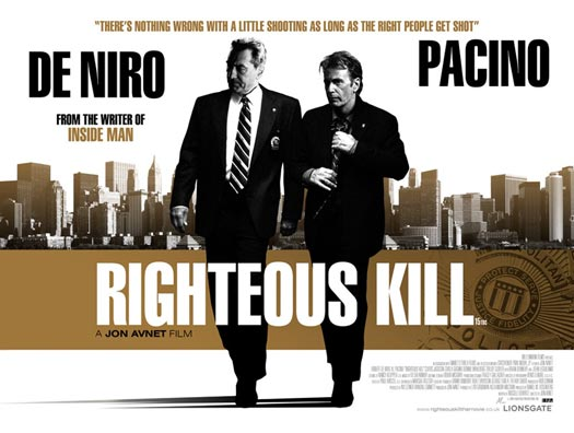 robert de niro si al pacino righteous kill