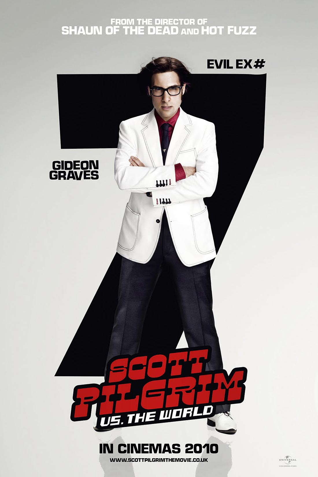Scott Pilgrim Vs The World Posters The Seven Evil Ex
