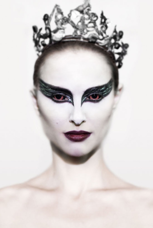 Natalie Portman as the Black Swan