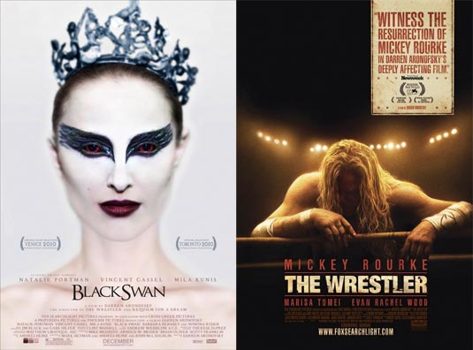 Black Swan | The Wrestler. After jump read what the director told about his