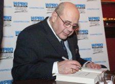 Buddy Cianci signing books