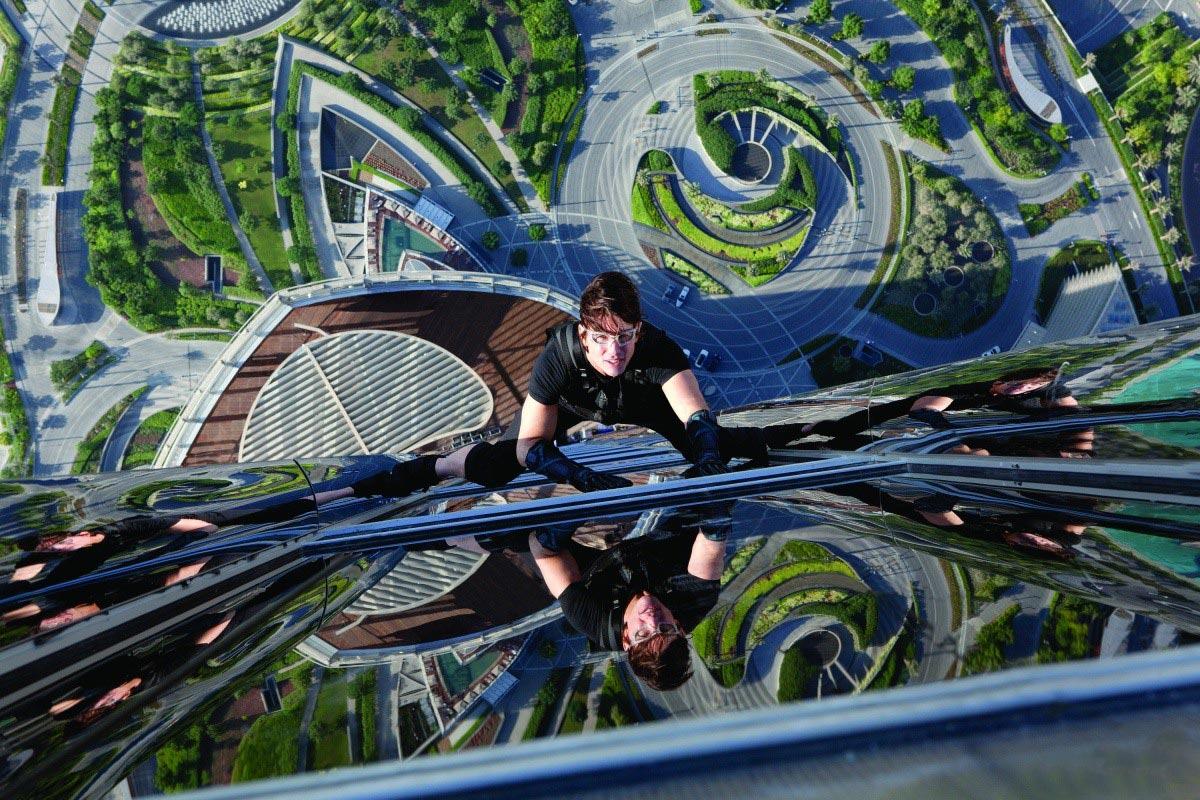Ethan Hunt sul Burj Khalifa