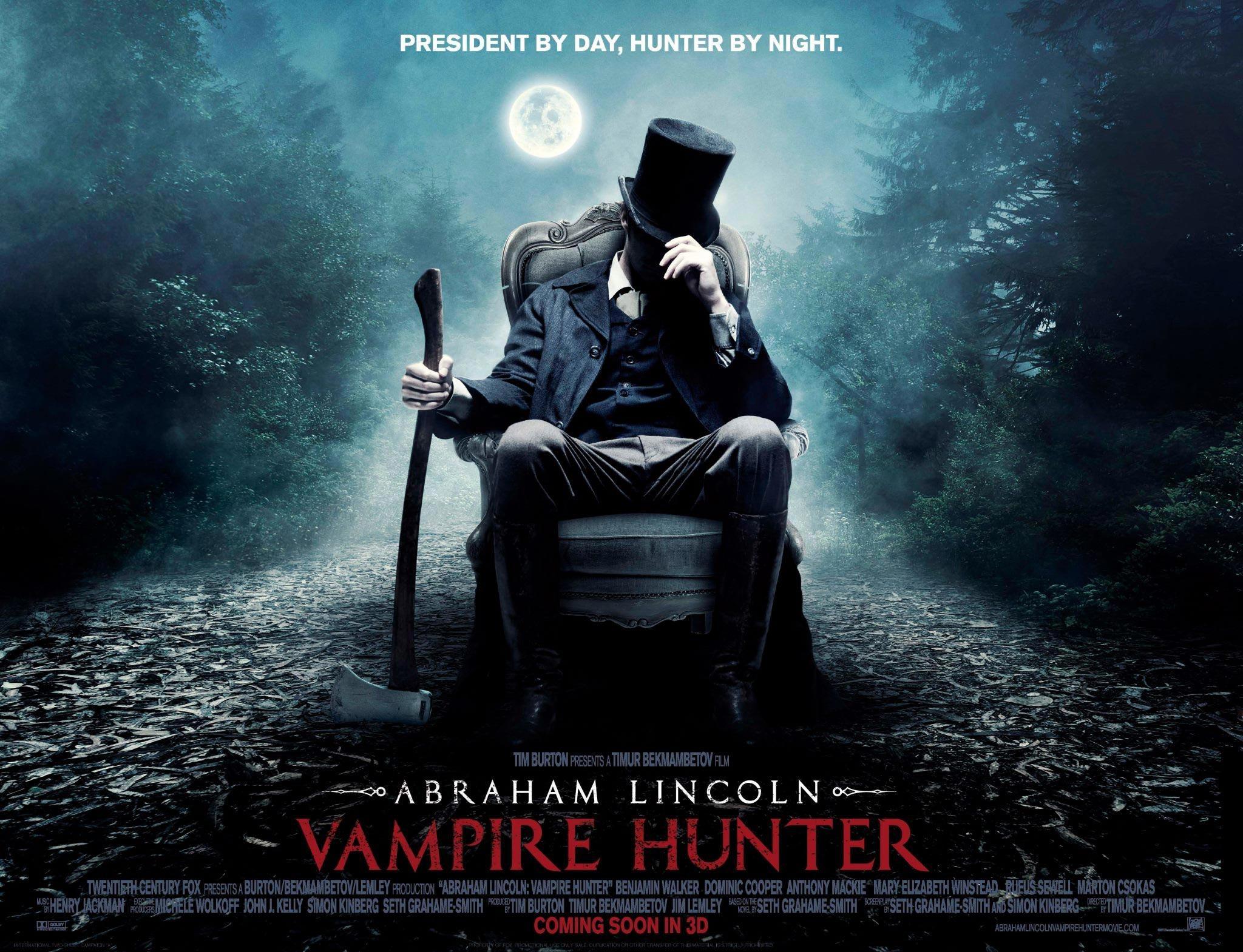Abraham Lincoln: Vampire Hunter – 2/5 stars – Musings of Guitargalchina