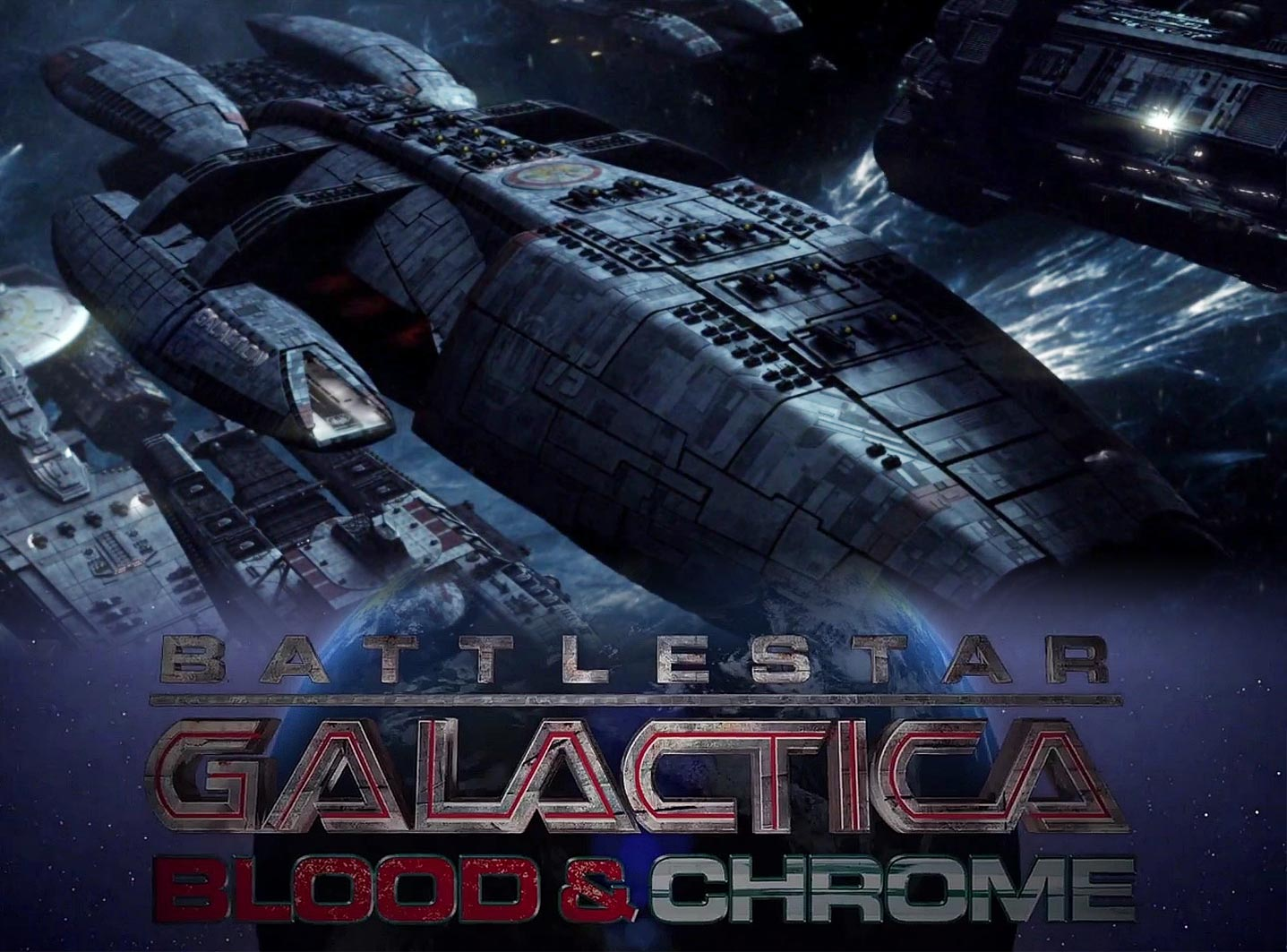 Poster do filme Battlestar Galactica: Blood and Chrome