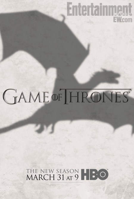 Game of Thrones S3 poster (Draak)