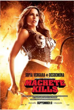 Sofia Vergara als Desdemona in Machete Kills poster