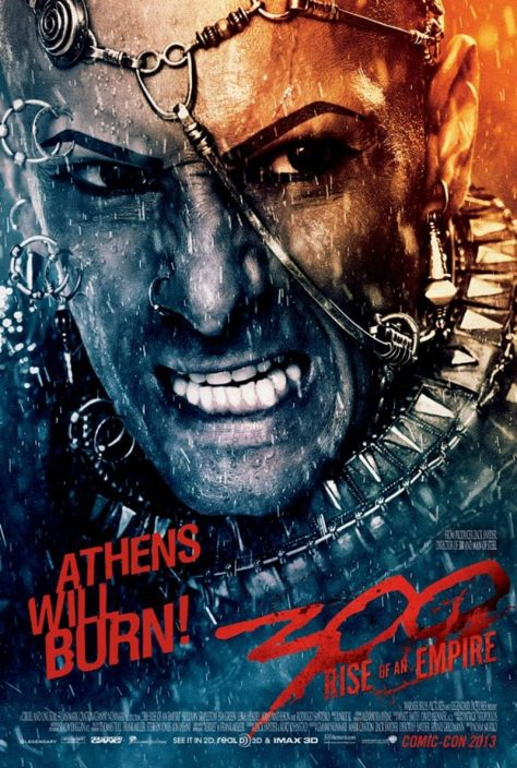 300: Rise of an Empire - Athens Will Burn - Xerxes poster