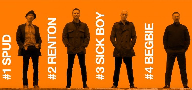 The Gang Are Back For T2: Trainspotting 2