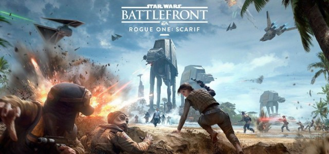 Explosive Trailer for Star Wars Battlefront – Rogue One: Scarif DLC