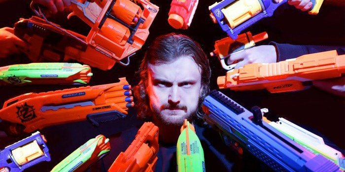 Watch: Incredible John Wick Recreation With Nerf Guns