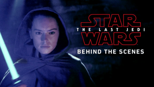 Star Wars: The Last Jedi Behind The Scenes Video Unveiled At D23