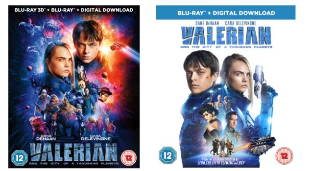 Valerian Home Entertainment Release Details