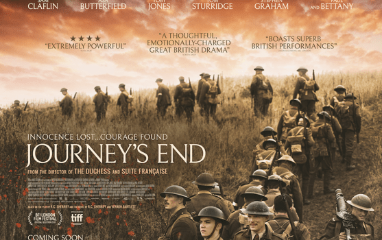 Powerful Trailer For Journey's End Arrives