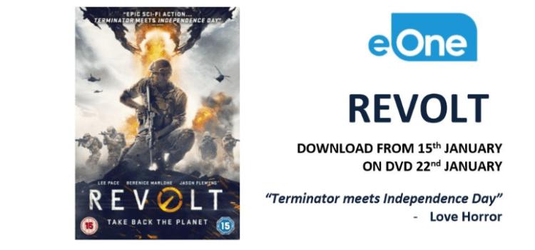 Revolt Home Entertainment Release Details
