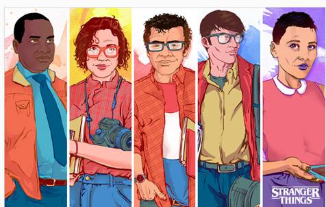 Stranger Things: How The Characters Would Look In 2017