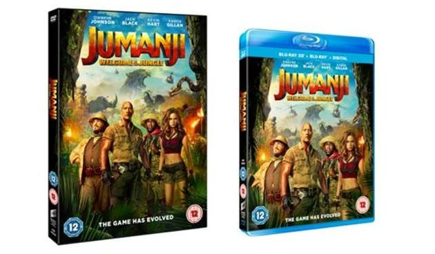 Jumanji: Welcome To The JungleHome Entertainment Release Details