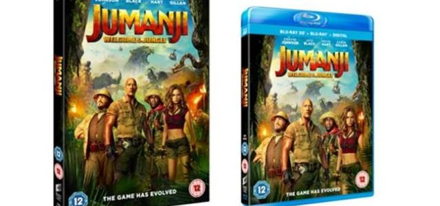 Jumanji: Welcome To The Jungle Home Entertainment Release Details