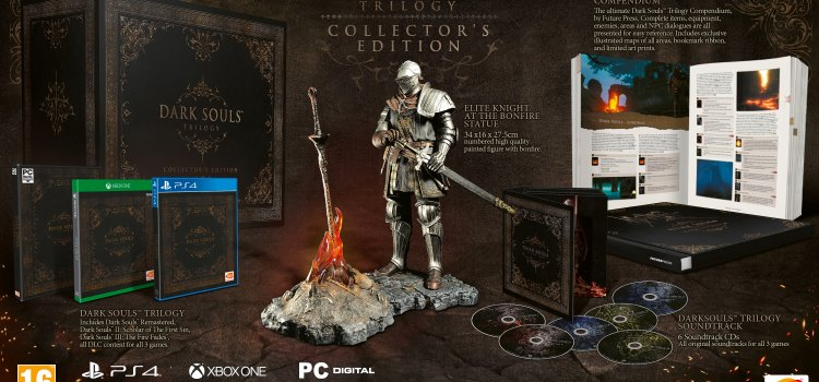 PRAISE THE SUN! DARK SOULS™ TRILOGY COLLECTOR'S EDITION UNVEILED