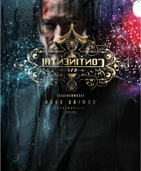 JOHN WICK: CHAPTER 3 – PARABELLUM  IN UK CINEMAS ON 17TH MAY 2019