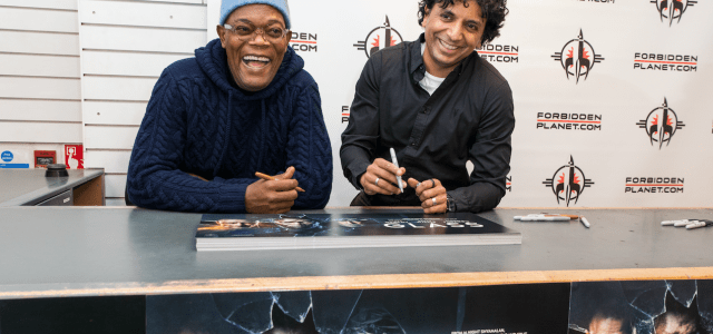 Samuel L. Jackson and M. Night Shyamalan head to Forbidden Planet