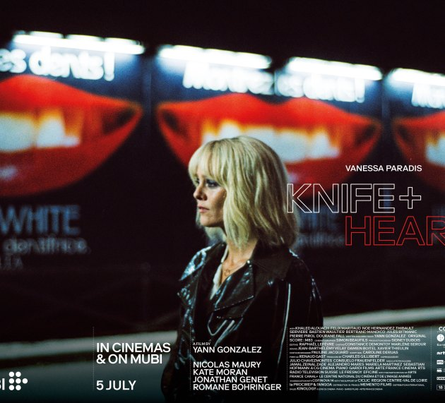 """""""KNIFE + HEART"""" IN CINEMAS AND EXCLUSIVELY ON MUBI FROM 5 JULY"""