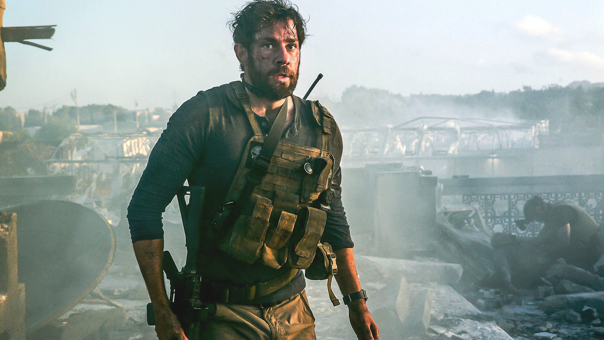 Movie Review 13 Hours The Secret Soldiers Of Benghazi 2016