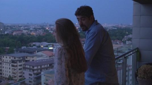 Ovidiu Niculescu (Mike) Bianca Valea (Estera) - balcony scene