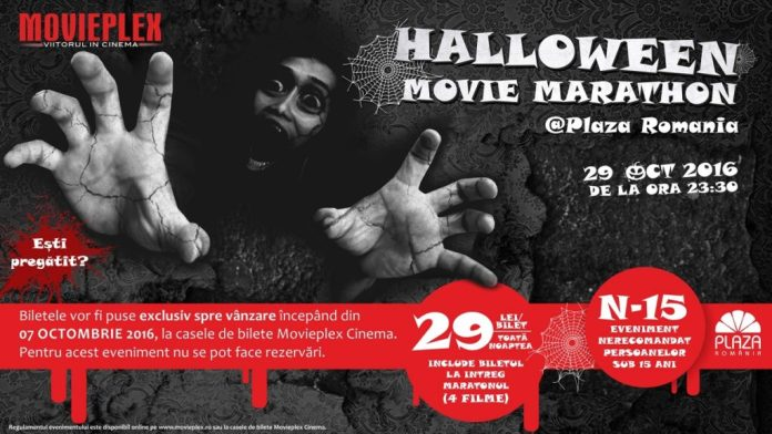 halloween-movie-marathon-la-plaza-romania