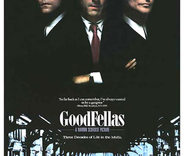 Goodfellas 1990 Is Director Martin Scorseses Stylistic Masterpiece A Follow Up Film To His Own Mean Streets 1973 Released In The Year Of Francis