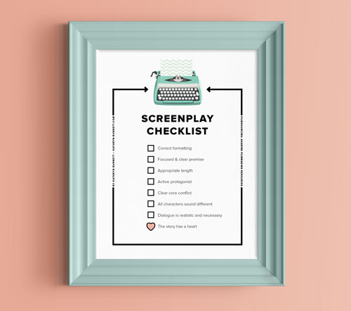 Screenplay Checklist How To Avoid The Reject Pile Filmsourcing Sharing Filmmaking Resources