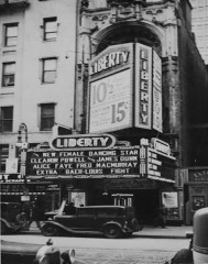 New York City's Liberty Theater in 1935