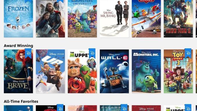 Disney Films in China