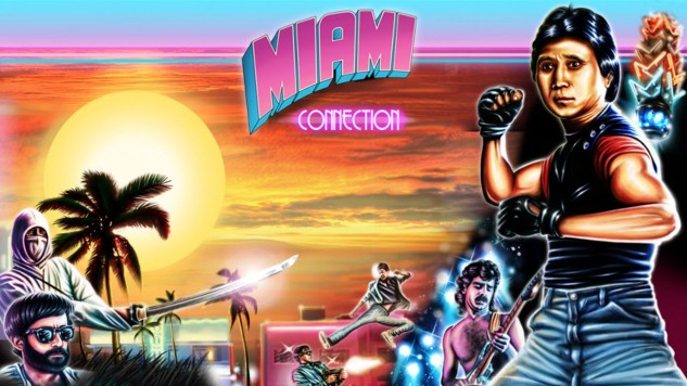 Re-watching Miami Connection and then watching it again.