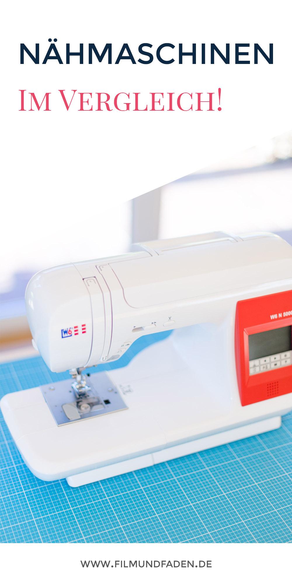 Wir haben 4 Nähmaschinen aufgrund ihrer Eigenschaften unter die Lupe genommen und für euch verglichen!
