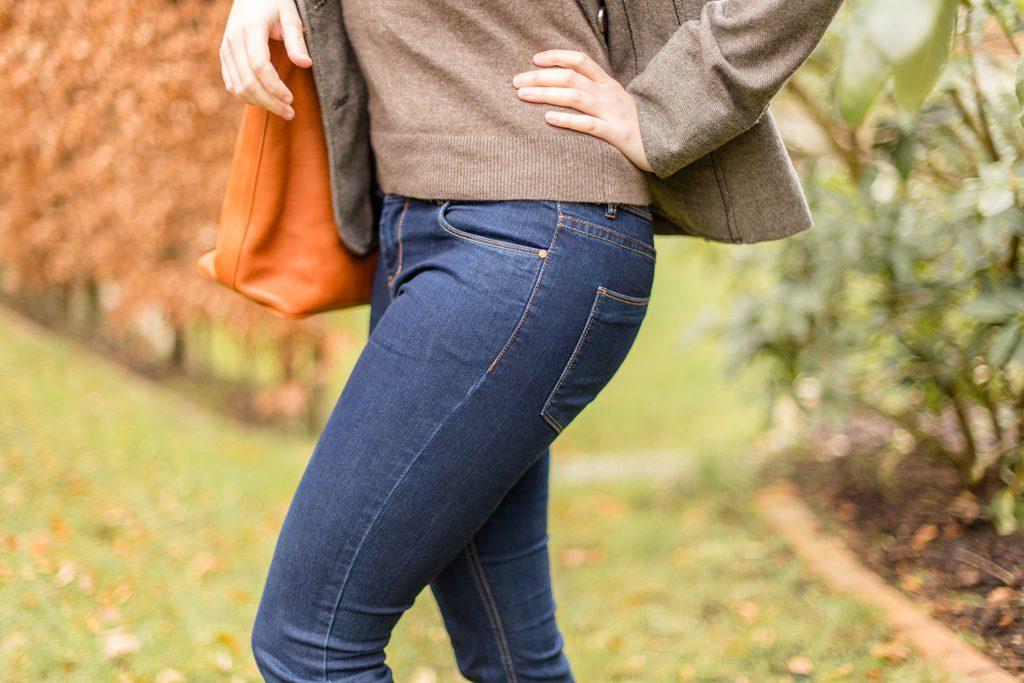 Eine gut sitzende Jeans ist das A und O