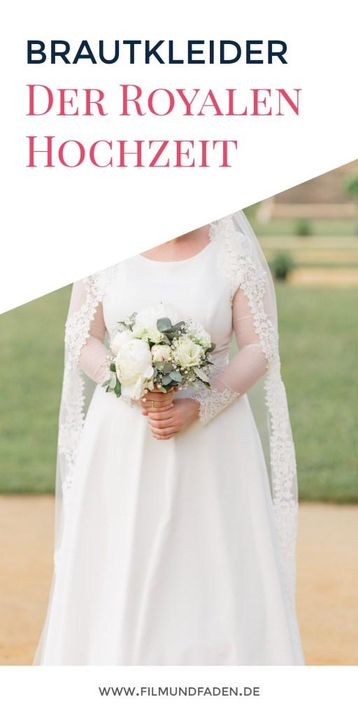 Die Brautkleider der royalen Hochzeit - passende Schnittmuster zum selber nähen!