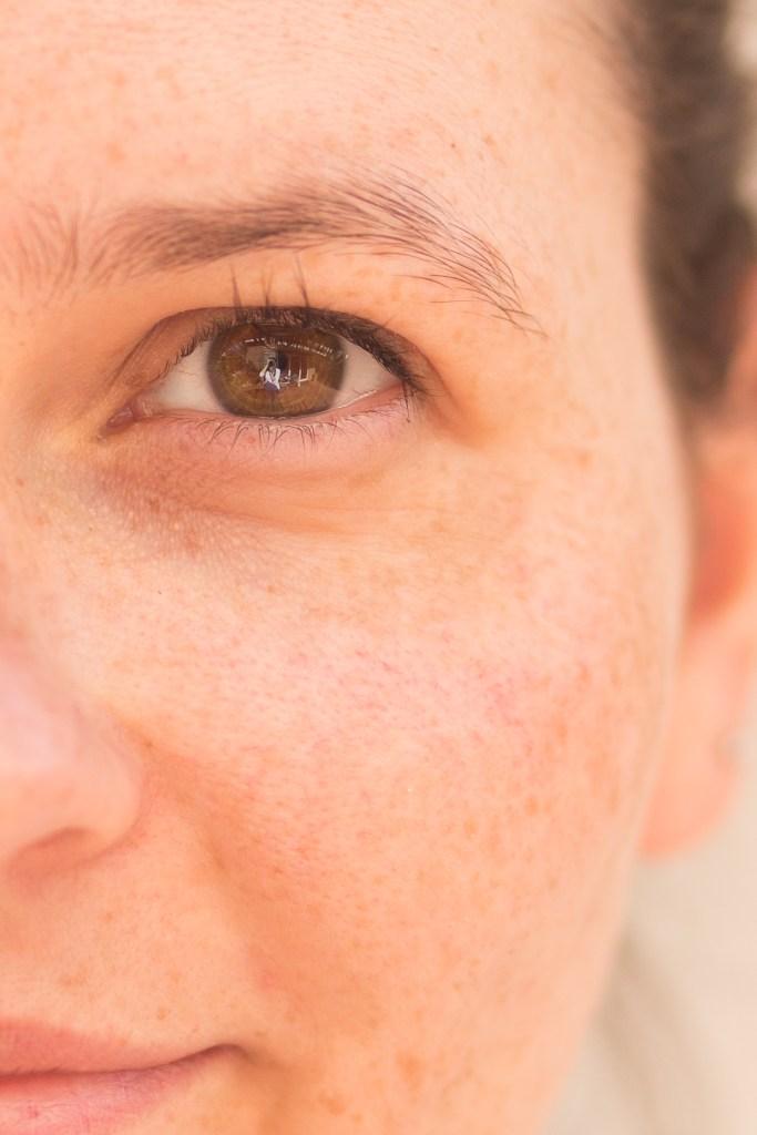 Augen Test für Farbtyp