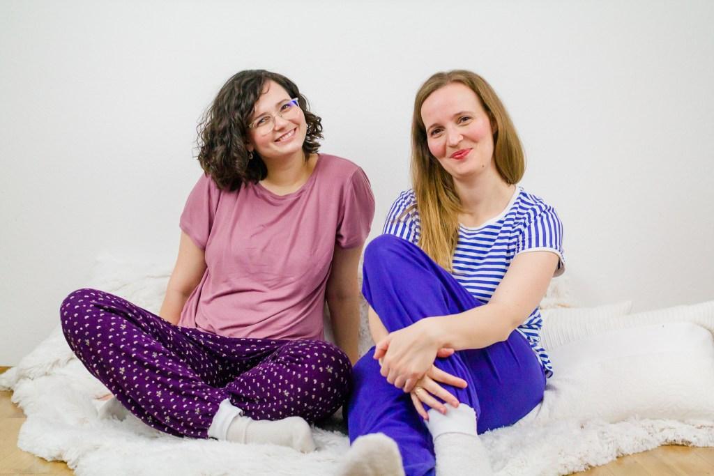 Miriam und Sarah in der Hose Benni