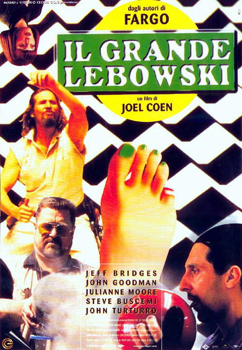 Il grande Lebowski di Joel Coen (1998)