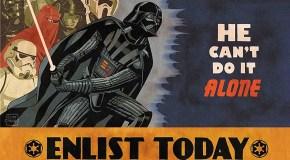Star Wars: Propaganda-Plakate rufen zu den Waffen!