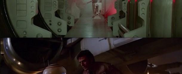 Star Wars Ring Theorie: Ein Vergleich von The Force Awakens mit Star Wars 1 (A New Hope)