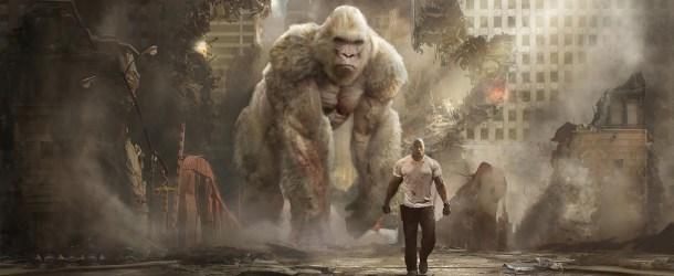 """""""RAMPAGE"""" Kritik: Albino King Kong mit Verstärkung"""