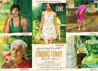 Finding Fanny poster All in one