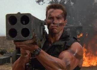 Commando best action film ever