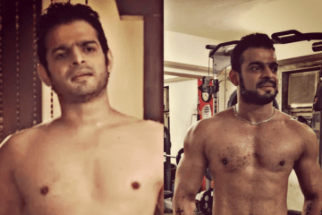 Karan Patel body transformation