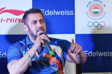 Salman Khan announces Rs 1 lakh each for all the Indian Olympic Athletes in Rio