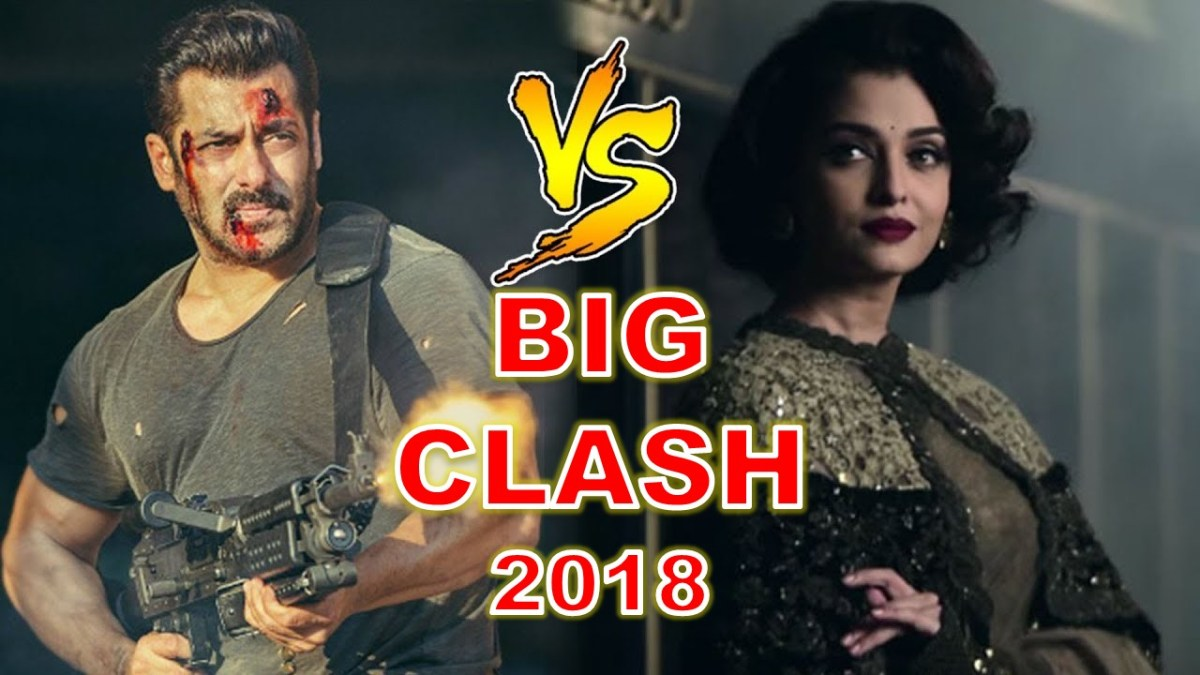 Salman Khan and Aishwarya Rai Bachchan's Film to Clash at Box office on Eid 2018