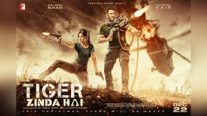 tiger zinda hai, tiger zinda hai first look, tiger zinda hai salman and katrina, tiger zinda hai official traailer, tiger zinda hai new look, salman khan, katrina kaif,