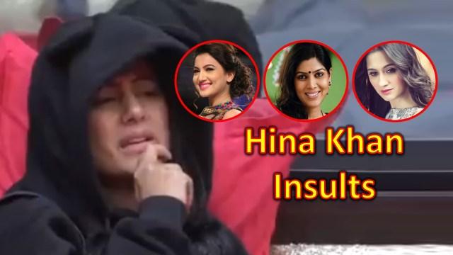 Hina Khan Insults Gauhar Khan, Sakshi Tanwar and Sanjida Sheikh