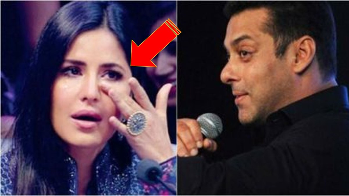 Katrina Kaif Cries and Salman Khan Sings a ROMANTIC SONG for Her